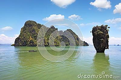 政券海岛詹姆斯壮观的泰国