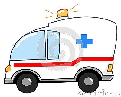 救护车动画片图片