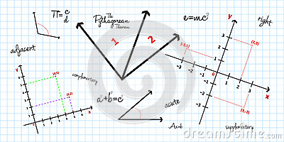 数学几何背景