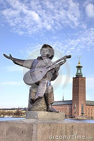 斯德哥尔摩 音乐家雕塑图片