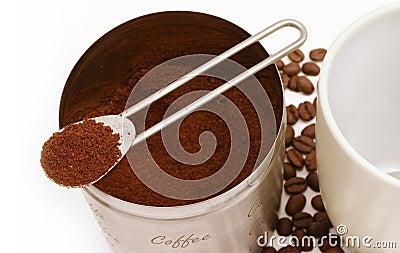 新鲜的咖啡