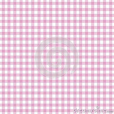 方格花布粉红色