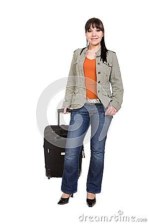 旅行的妇女