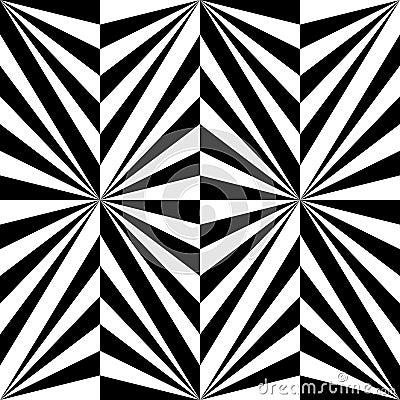 无缝的多角形黑白条纹图形 几何抽象的背景 适用于纺织品,织品和包装图片