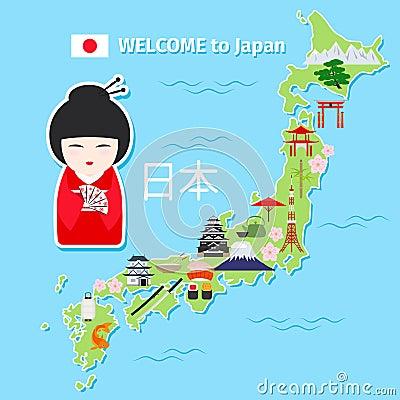 日本地?_日本旅行地图