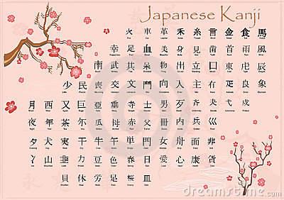 日本汉字含义