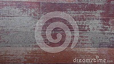 旧的有划痕的硬木地板需要维修 股票录像