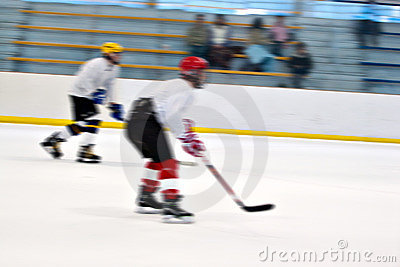 曲棍球冰球员