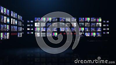 最新新闻控制室 股票录像