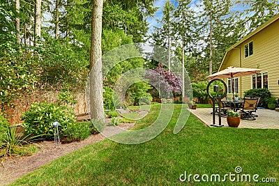 梦到房子后院树流水