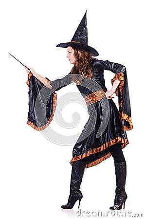 有查出的鞭子的巫婆