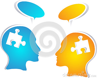 有讲话泡影的五颜六色的概念人民