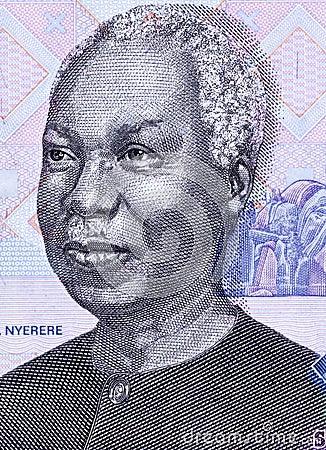 朱利叶斯Nyerere 图库摄影片