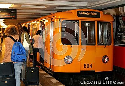 柏林德国地铁.图片