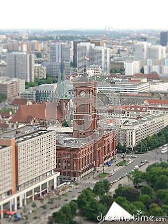 柏林大厅城镇