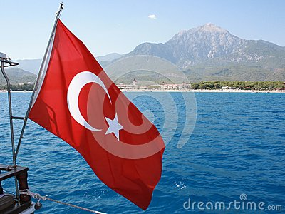 标志土耳其