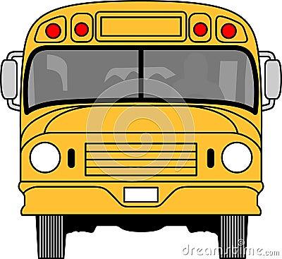 为孩子的一个校车或日托司机完善.图片