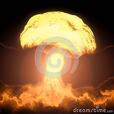 免版税库存图片: 核弹爆炸