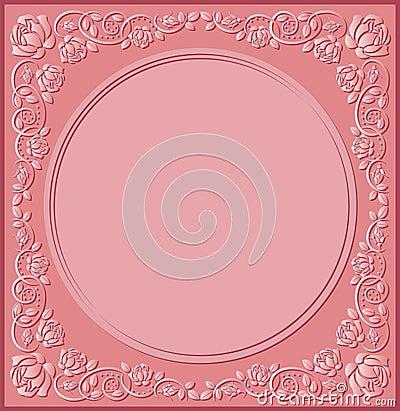 桃红色背景