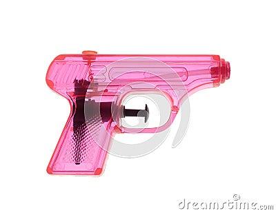 桃红色Watergun
