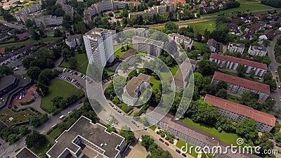 梅明根市美丽全景 德国 股票视频