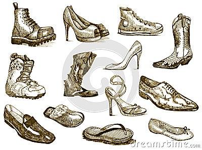 梦想鞋子 库存照片 - 图片图片