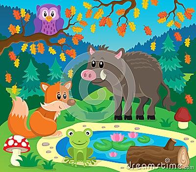 森林动物题目图象2图片