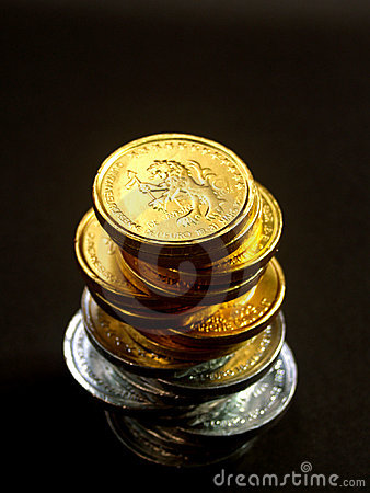 欧洲10枚的硬币