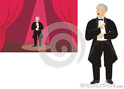 歌剧歌唱家图片