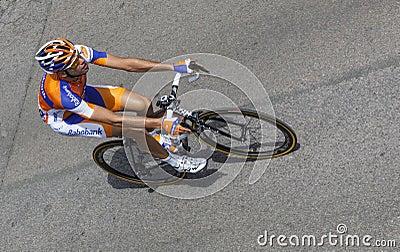 比利时骑自行车者Wynants Maarten 图库摄影片