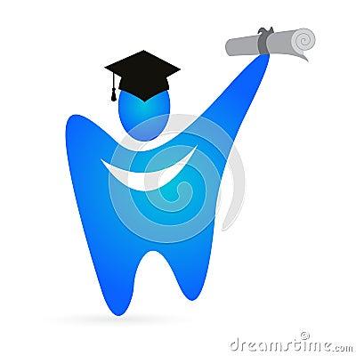 毕业生牙 免版税库存照片 - 图片: 23953868