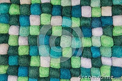 毛毡手工制造背景以创造性的项目的绿色图片
