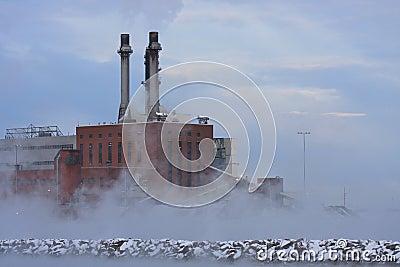 污染上升暖流