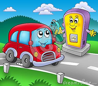 加油站未遂漫画怎么写图片