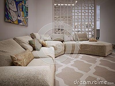 库存例证: 沙发现代样式图片