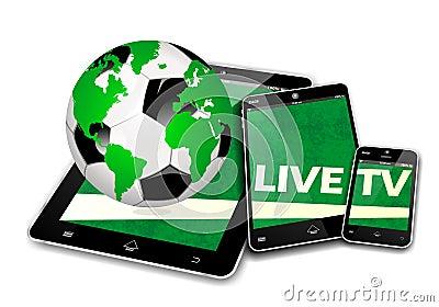 流动电视足球