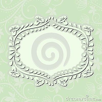 浅绿色的背景
