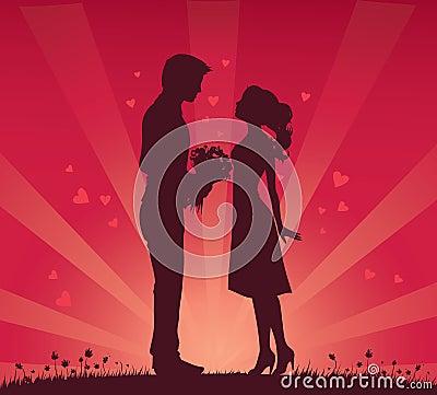浪漫的夫妇