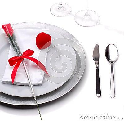 浪漫的正餐
