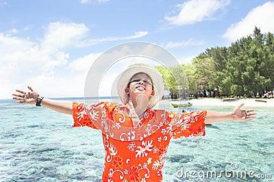 海岛热带假期