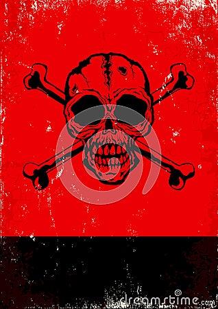 火焰牙眼睛符号红色纸张纹身花刺罪恶老背包节假日