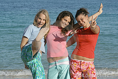 海滩组节假日夏天
