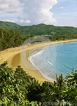 海滩kamala普吉岛泰国