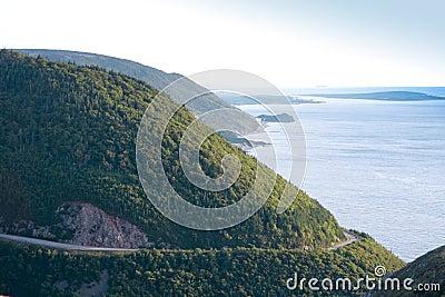 海角不列塔尼的风景路