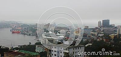 海运的Superliner说明,山顶APEC 编辑类库存照片