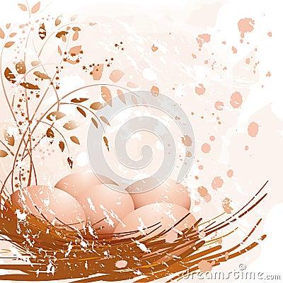 淡色的复活节彩蛋