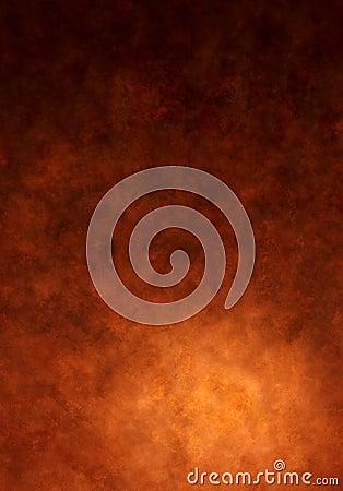 温暖背景棕色的画布被绘