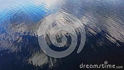 湖中的云 股票视频