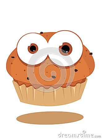 滑稽的松饼