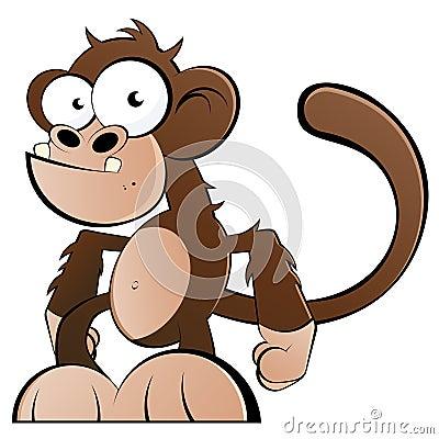 滑稽的猴子图片